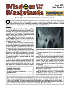 Wisdom from the Wastelands Issue #40: New Races 2