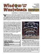 Wisdom from the Wastelands Issue #48: Unique Superscience Artifacts IV