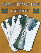 Cards & Quests: Lake Deck