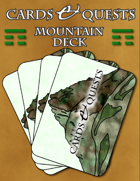 Cards & Quests: Mountain Deck