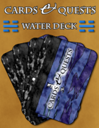 Cards & Quests: Water Deck