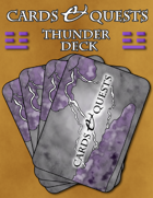 Cards & Quests: Thunder Deck
