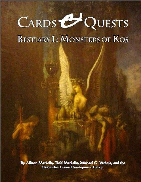Cards & Quests Bestiary 1: Monsters of Kos