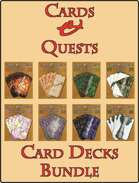 'Cards & Quests' Card Decks [BUNDLE]