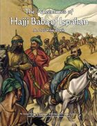 The Adventures of Hajji Baba of Ispahan: A Coloring Book