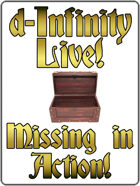 d-Infinity Live! Series 4, Episode 28: Missing In Action