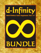 d-Infinity Volumes 0-7 [BUNDLE]