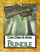 '100 Oddities for an Enchanted Forest Card' Deck & Book [BUNDLE]