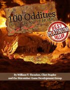 100 Oddities for a Treasure Hoard