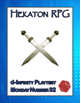 Hekaton RPG (d-Infinity Playtest Monday #32)