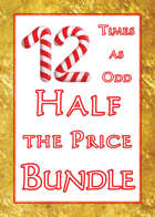 12 Times as Odd, Half the Price [BUNDLE]