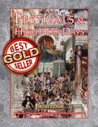 Festivals & High Holy Days