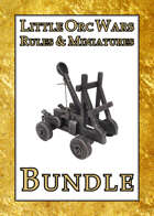'Little Orc Wars' Rules & Miniatures [BUNDLE]
