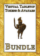 Virtual Tabletop Tokens & Avatars [BUNDLE]