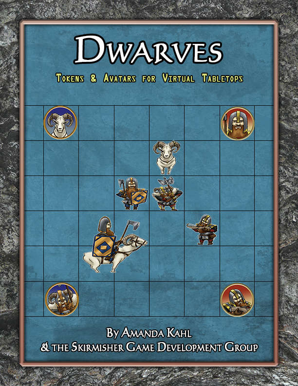 Dwarves: Tokens & Avatars for Virtual Tabletops