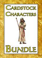Cardstock Characters [BUNDLE]