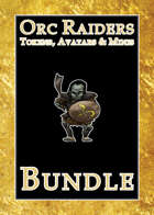 Orc Raiders Tokens, Avatars & Minis [BUNDLE]