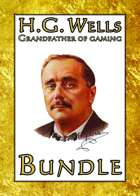 H.G. Wells: Grandfather of Gaming [BUNDLE]