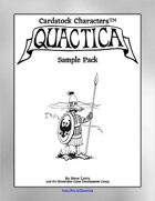 'Quactica' Miniatures Sampler