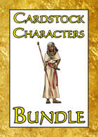 Cardstock Characters Miniatures [BUNDLE]