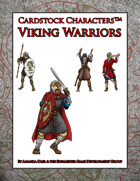 Viking Warriors (Cardstock Characters)