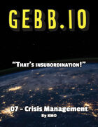 Gebb 07 – Crisis Management