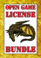 Open Game License [BUNDLE]