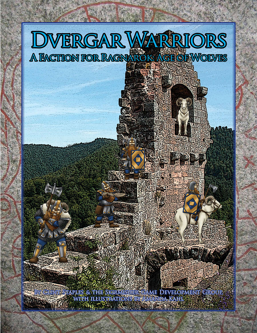 Dvergar Warriors (A Faction for 'Ragnarok: Age of Wolves') - Skirmisher  Publishing | Miniatures Rules | Sales | Non-Bestsellers | Miniatures Rules