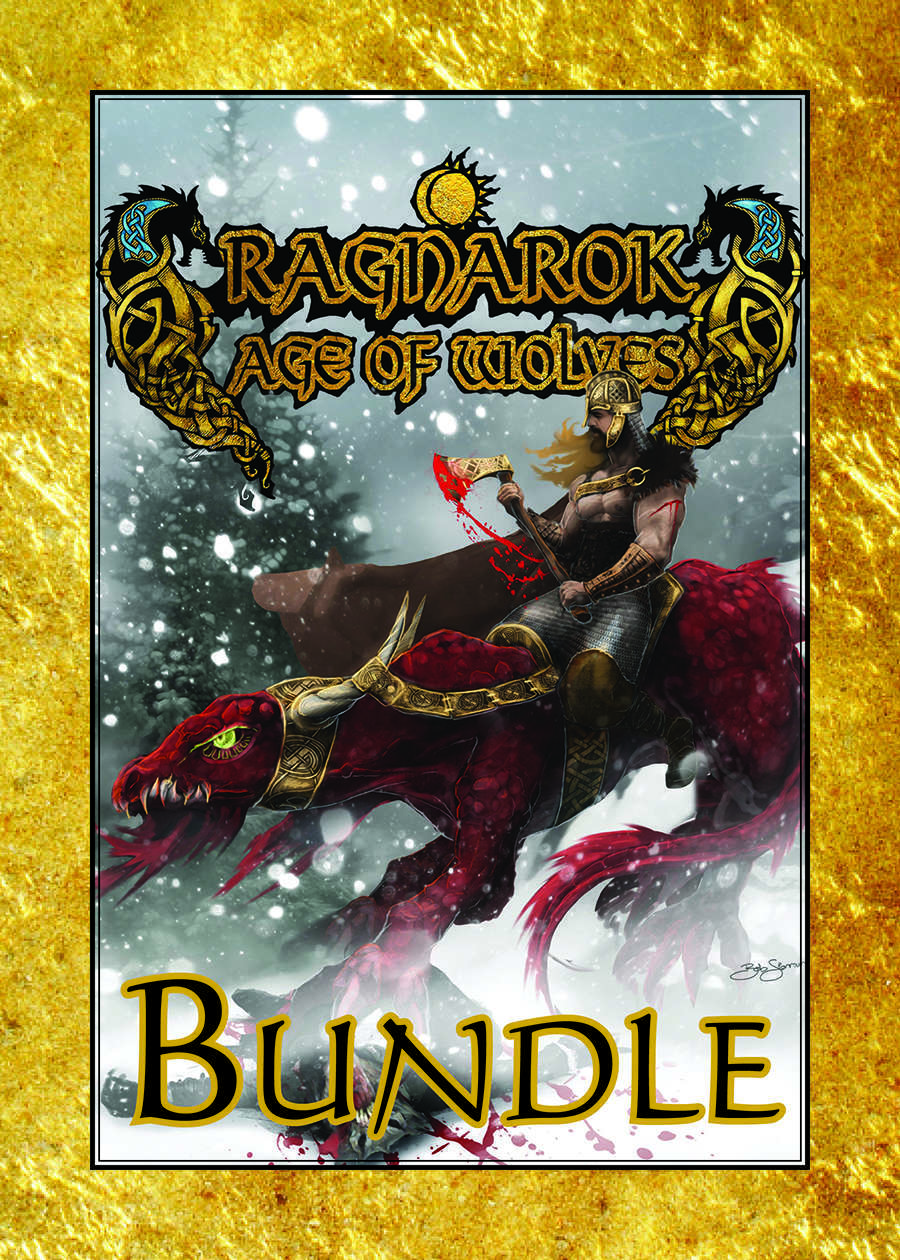 'Ragnarok: Age of Wolves' Print & PDF [BUNDLE]