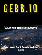 Gebb 64 – Lower Back Pain is No Joke