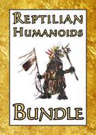 Reptilian Humanoids [BUNDLE]