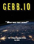 Gebb 75 – Thus Spake Fritz