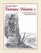 Vintage Stock Art: Fantasy Volume 1