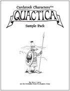 Cardstock Characters™: Quactica Sample Pack