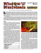 Wisdom from the Wastelands Issue #3: High-Tech Weapons