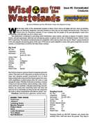 Wisdom from the Wastelands Issue #5: Domesticated Creatures