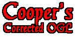 Cooper's Corrected OGL
