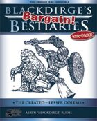 Blackdirge's Bargain Bestiaries: The Created - Lesser Golems