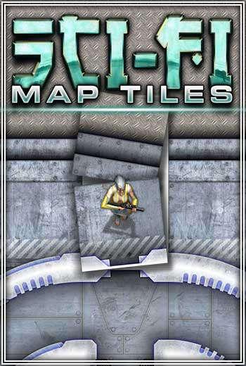 Sci-fi Map Tiles - WyldFurr | RPG Maps | DriveThruRPG com