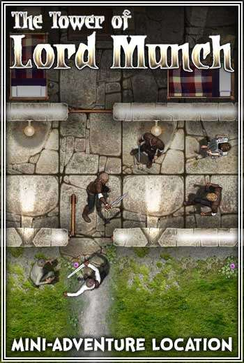 Compass Point #05: The Tower of Lord Munch Generic Virtual Tabletop Edition