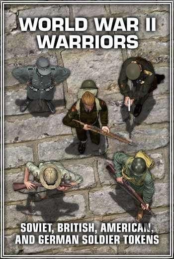 World War II Warriors - WyldFurr | Token Packs | DriveThruRPG com
