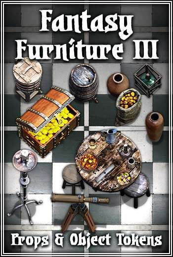 Fantasy Furniture III Token Pack