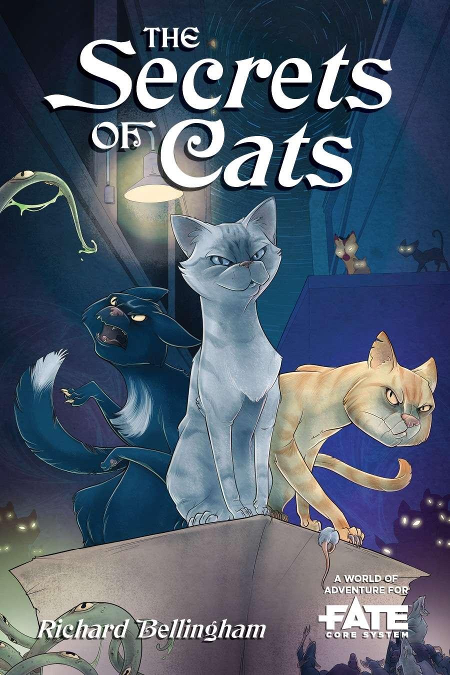 The Secrets of Cats • A World of Adventure for Fate Core - Evil Hat  Productions, LLC | Fate Core | DriveThruRPG com
