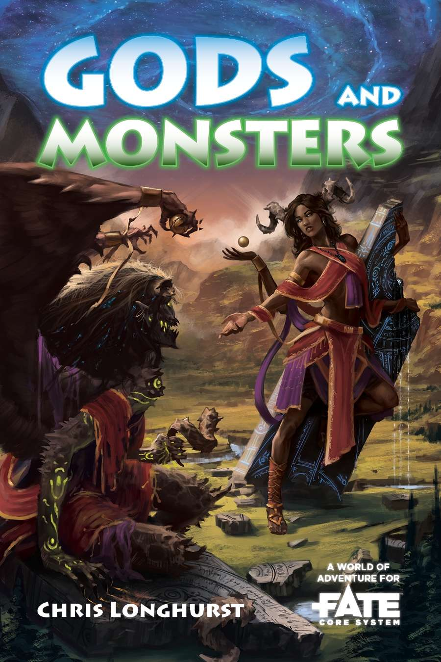 Gods and Monsters • A World of Adventure for Fate Core