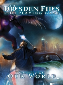 Dawn of Darkness a Dresden Files RPG game