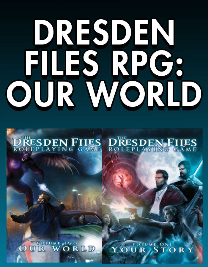 Dresden Files RPG: Your Story, Our World [BUNDLE]