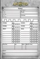 Anointed Character Sheet