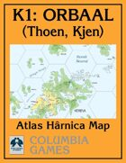 Atlas Map K1: Orbaal - Thoen & Kjen