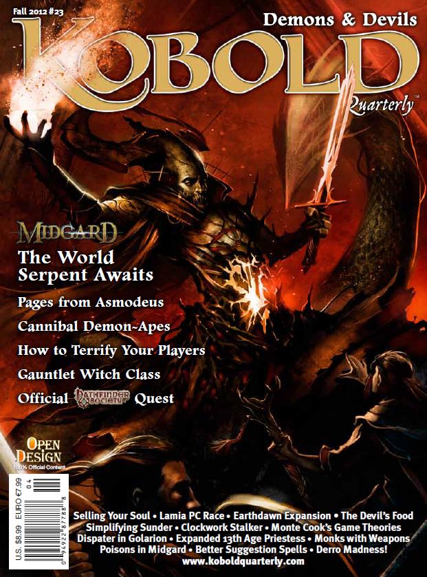 Kobold Quarterly Magazine 23