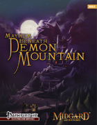 Midgard Adventures 4: Mayhem Beneath Demon Mountain (Pathfinder RPG)